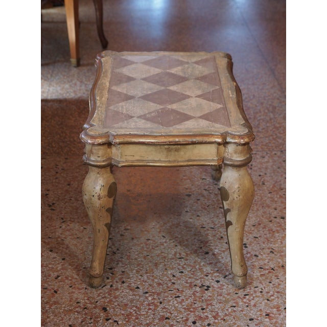 Small 19th Century Italian Side Table For Sale In New Orleans - Image 6 of 7