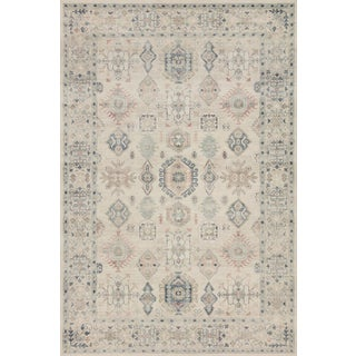 """Loloi Rugs Hathaway Beige/Multi 2'-0"""" x 5'-0"""" Area Rug For Sale"""