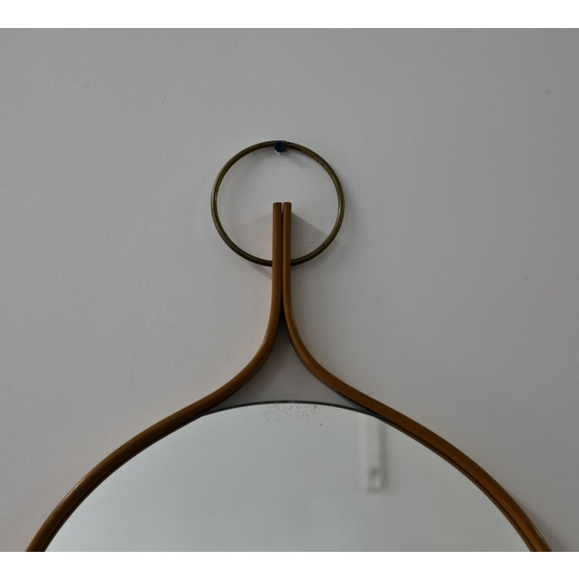 AB Markaryd 1955 Vintage Hans-Agne Jakobsson Wall Mirror For Sale - Image 4 of 7