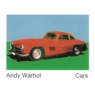 Andy Warhol_300 Sl Coupe (1954) (Lg)_Offset Lithograph_1989 For Sale