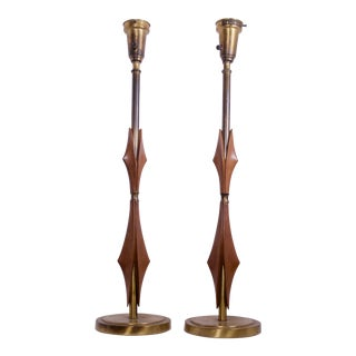 Mid-Century Modern Rembrandt Lamps - A Pair For Sale