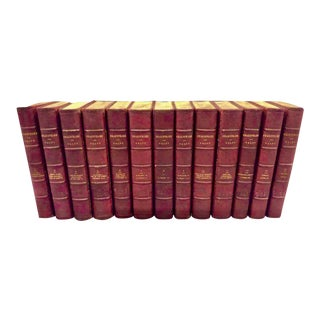 The Plays and Poems of Shakespeare - 13 Volumes For Sale