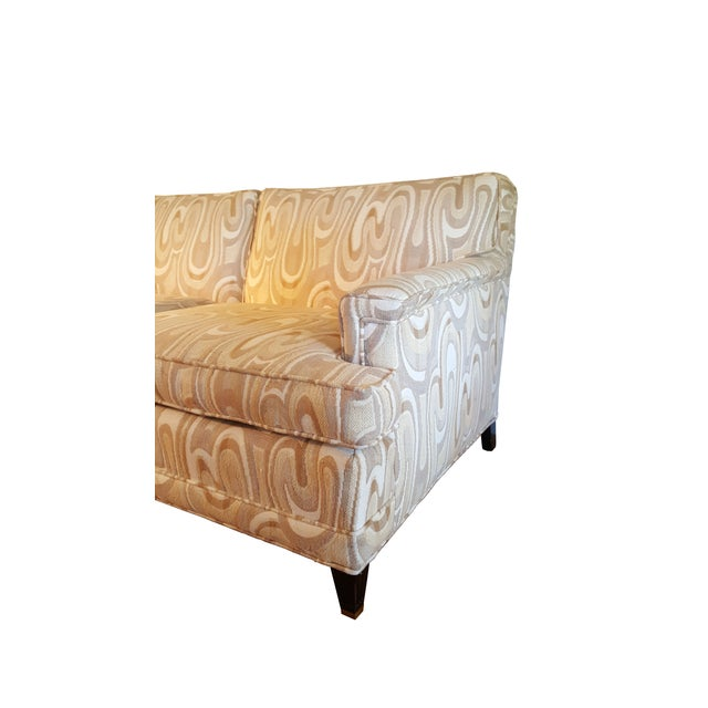 1940s Maison Jansen-Style Neutral Sofa For Sale - Image 4 of 7