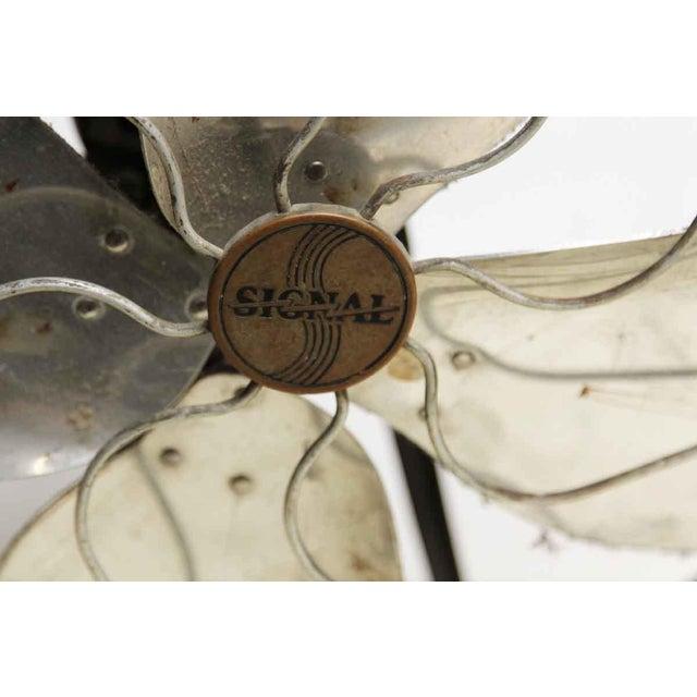 Industrial Hunter Vintage Fan For Sale - Image 3 of 5