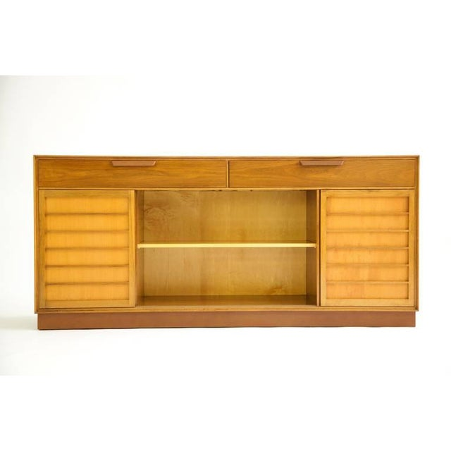 Dunbar Furniture 1950's Edward Wormley Sideboard For Sale - Image 4 of 10