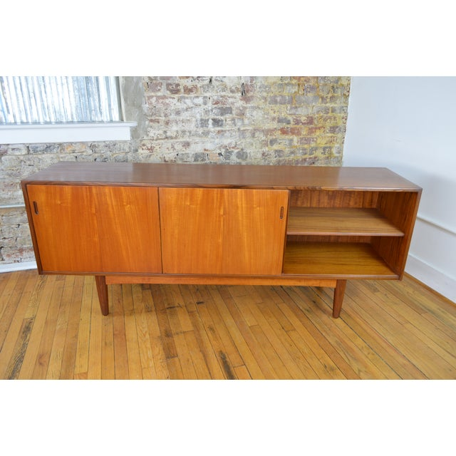 a9f569b86ff8 Danish Teak Credenza With Exposed Drawers For Sale - Image 6 of 10