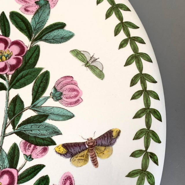 English Portmeirion Botanic Garden Rhododendron Covered Casserole Tureen For Sale - Image 9 of 12