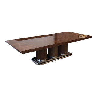 """Brueton """"Athens"""" Collection Mentose Wood Dining or Conference Table For Sale"""