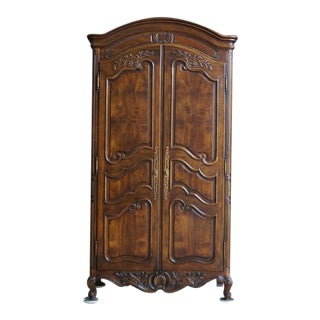 Henredon French Provincial Armoire For Sale