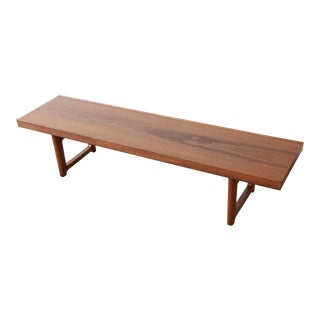 Torbjørn Afdal for Bruksbo 'Krobo' Teak Bench or Coffee Table