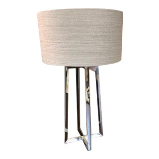 Contemporary Steel Leg Table Lamp