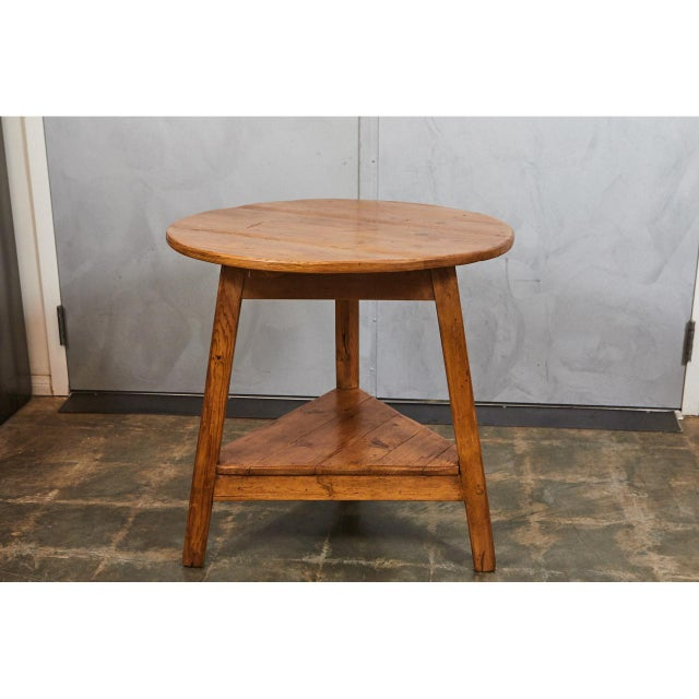Country 19th c. English Cricket Table For Sale - Image 3 of 6