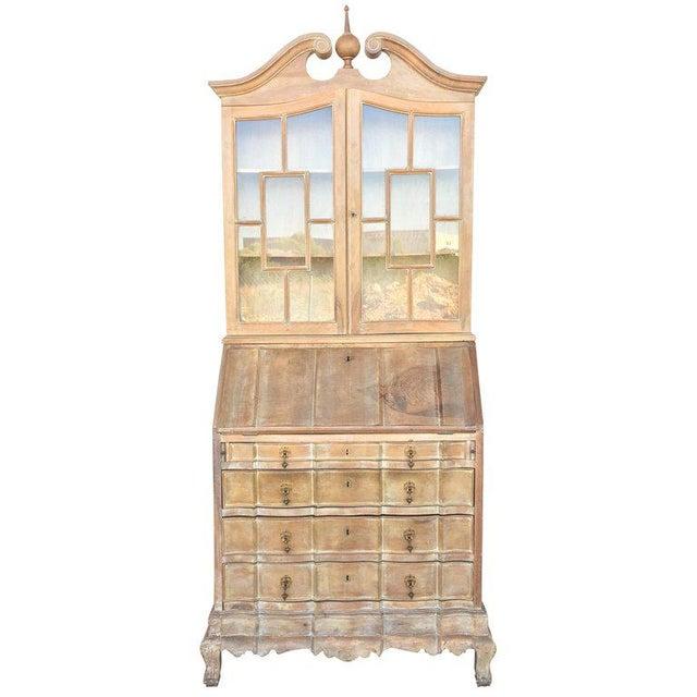 20th Century George III Secretary Bookcase For Sale - Image 13 of 13