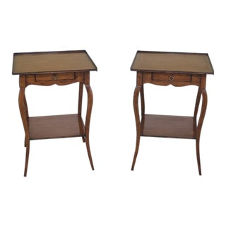 Theodore Alexander Chateau Du Vallois End Tables - a Pair For Sale