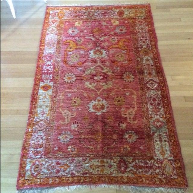 Silk Oriental Rug - 3'5'' x 6' - Image 3 of 7