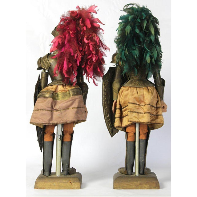 Pair of Mid-19th Century Sicilian Marionettes For Sale - Image 4 of 11