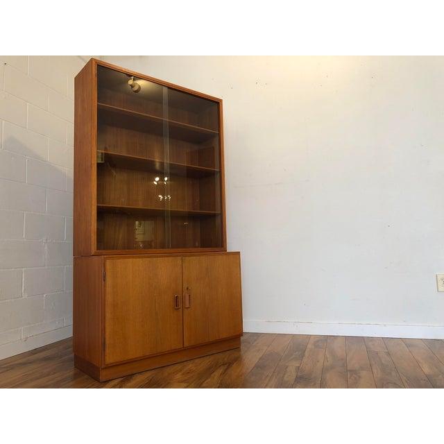 Danish Modern Borge Mogensen Danish Teak Cabinet / Display For Sale - Image 3 of 13