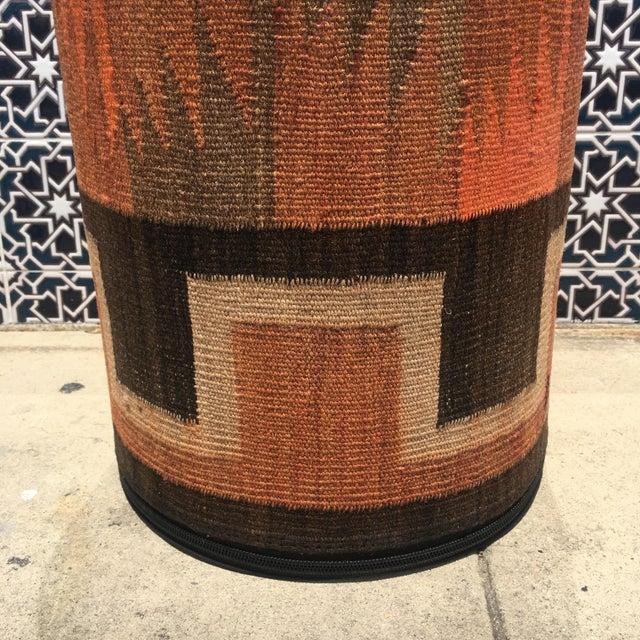 Vintage Kilim Fabric Stool - Image 5 of 5
