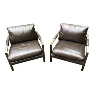 Milo Classic Lounge Chairs - A Pair For Sale