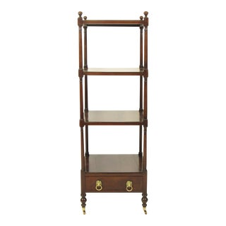 19th C American Federal Mahogany Etagere