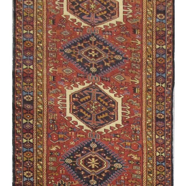 Islamic Vintage Handmade Persian Karaje Rug - 3'6''x14'1'' For Sale - Image 3 of 3
