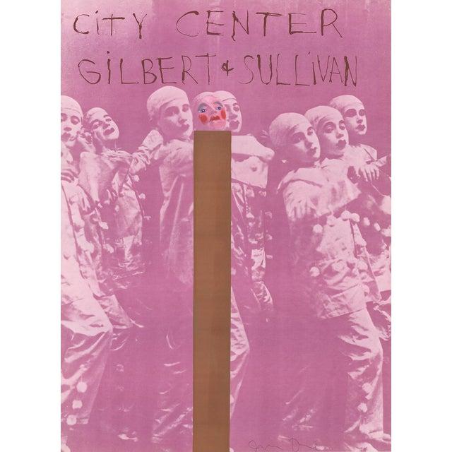 Jim Dine Gilbert And Sullivan Signed Serigraph For Sale