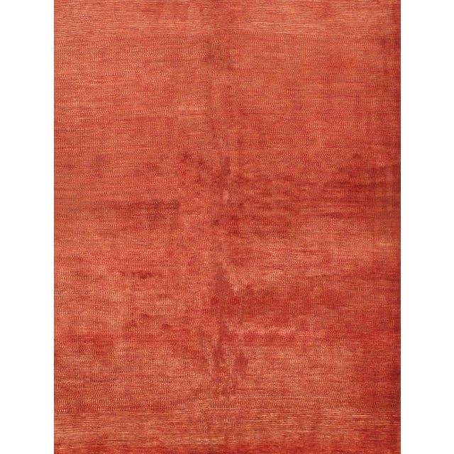 Persian Gabbeh Rug- 5′1″ × 6′6″ - Image 1 of 4