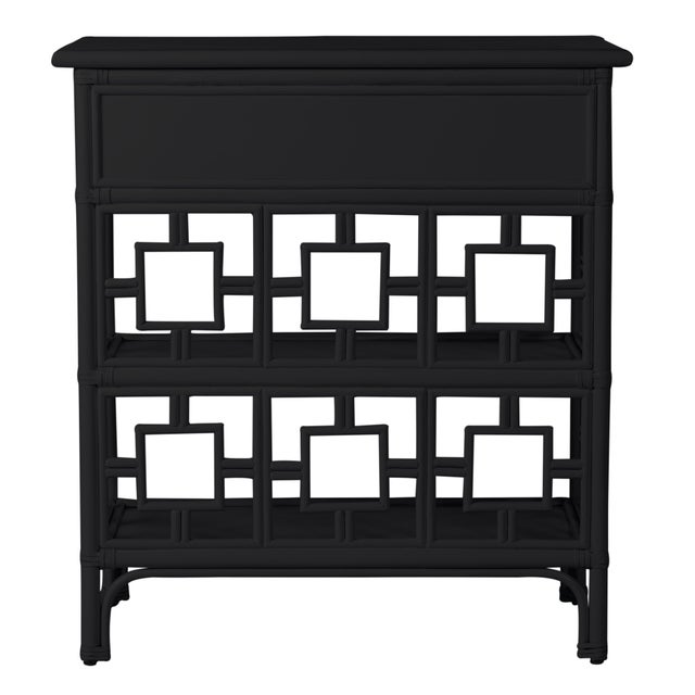 David Francis Sobe End Table - Black For Sale - Image 4 of 7