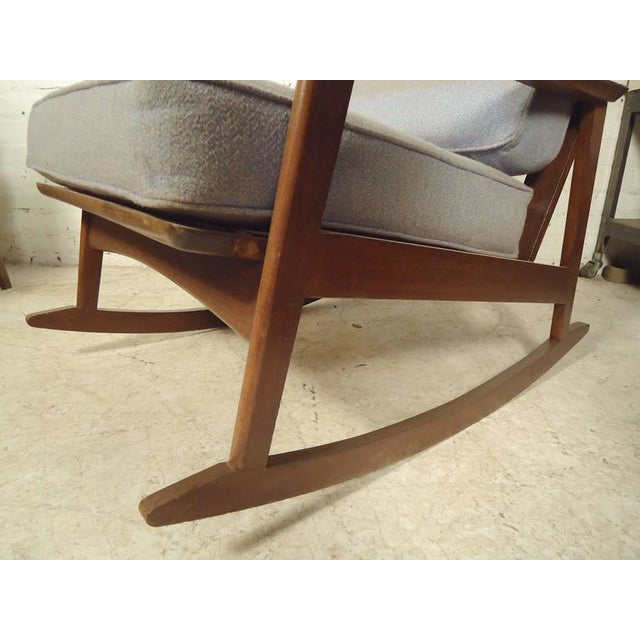 Swell Mid Century Modern Rocking Chair Armchair A Pair Alphanode Cool Chair Designs And Ideas Alphanodeonline