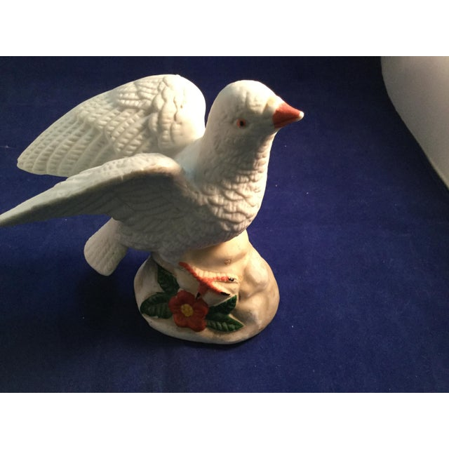Ceramic Dove of Peace Porcelain Figurine For Sale - Image 9 of 11