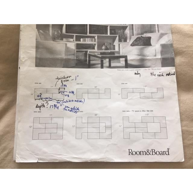 Room & Board Matrix Modular Shelving - A Pair - Image 8 of 10