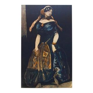 "1959 Constantin Guys ""La Grisette"", Large Hungarian Photogravure For Sale"
