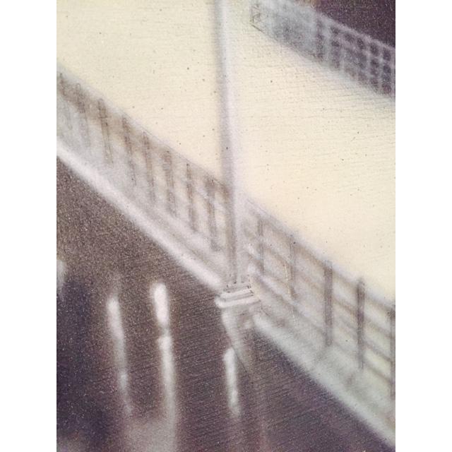 Charlie McPhee Vintage 1981 Pier Airbrush Painting - Image 5 of 6