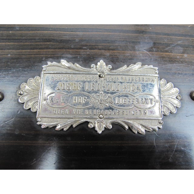 Metal Ariston Organette Music Box Player With Punched Paper Records For Sale - Image 7 of 10