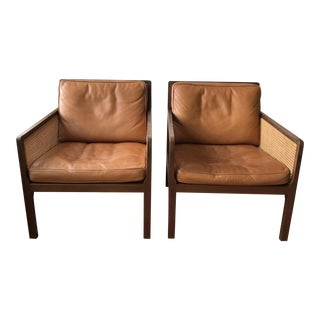 Vintage Mid Century Bernt Peterson Lounge Chairs- a Pair For Sale