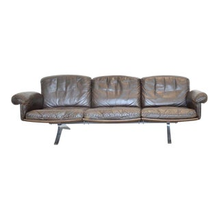 Desede Ds-31 Leather Sofa For Sale
