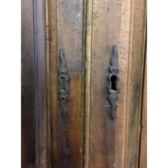 Walnut Late 18th Century Walnut French Cabinet Doors- a Pair For Sale - Image 7 of 11