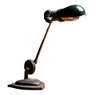 Vintage 1920s Industrial Edon Articulating Task Lamp For Sale