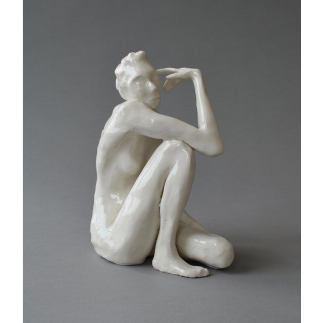 Contemporary Ceramic Figurative Maquette For Sale - Image 10 of 10