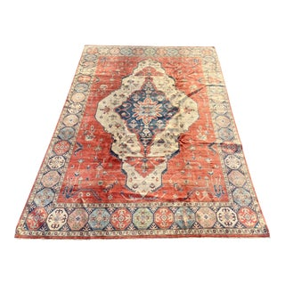 1990s Persian Area Rug - 9′8″ × 12′9″ For Sale