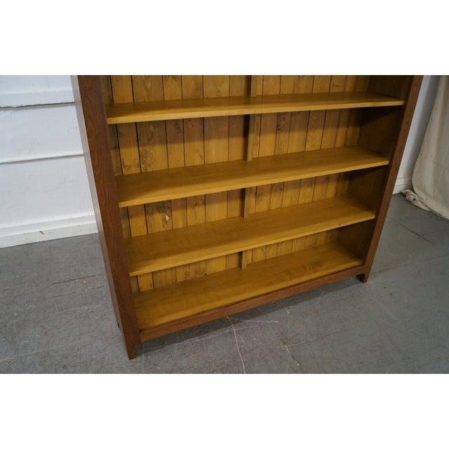 Hand Crafted Shaker Sassafras Wood Bookcase - Image 7 of 10