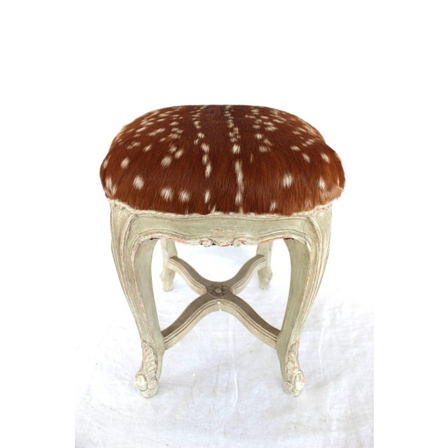 Louis XV Louis XV Style Stool For Sale - Image 3 of 7