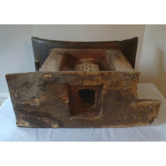Antique African Carved Ashanti Asante Stool For Sale - Image 10 of 11