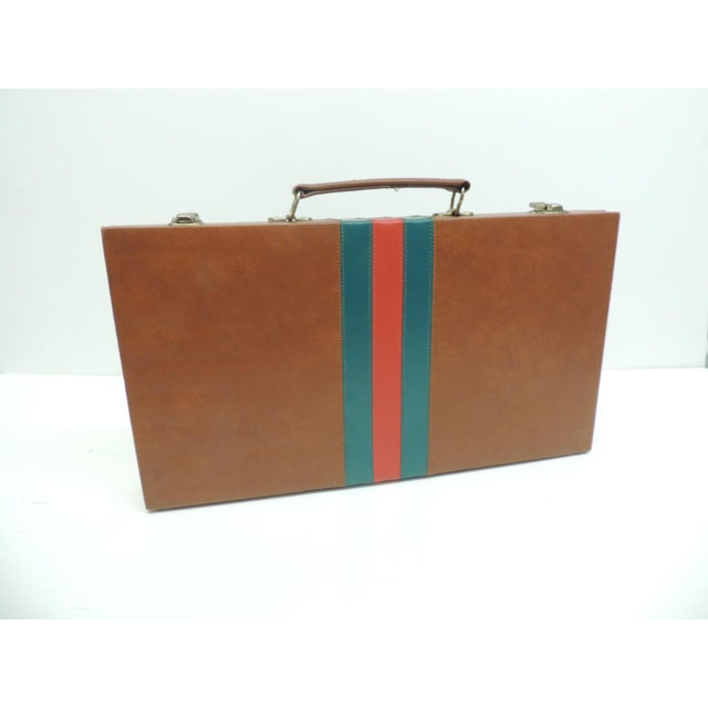9c778f440a7 Vintage Gucci Style Board Game in a Case For Sale - Image 4 of 4