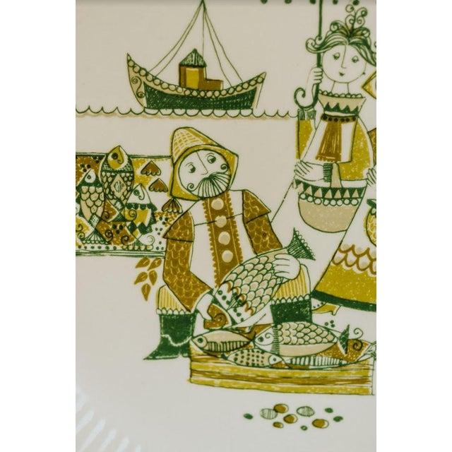 White Turi-Design Norwegian Mid-Century Dinner Plates - Set of 8 For Sale - Image 8 of 10