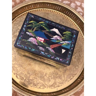 Antique Japanese Jewelry Box Preview