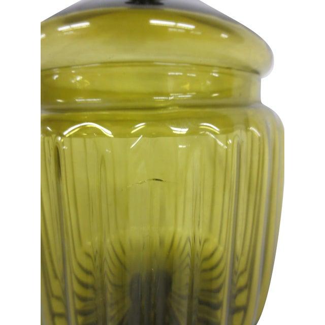 Green Glass Bon-Bon Dish - Image 5 of 5