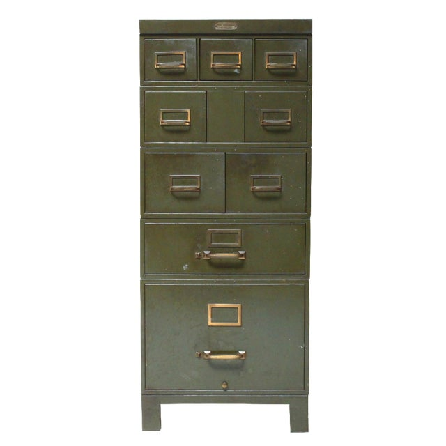 Industrial Metal File Cabinet - Image 1 of 4