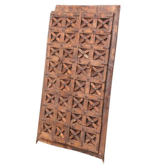 Antique Carved Moorish Door For Sale - Image 9 of 10