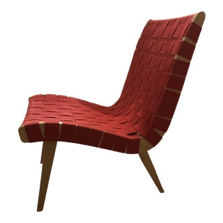 21st Century Vintage Knoll Risom Lounge Chair For Sale